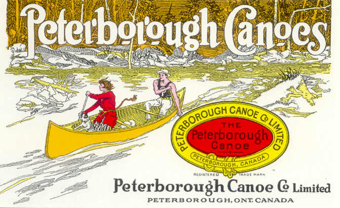 Cover of 1929 Peterborough Canoe Catalogue