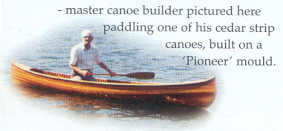Walter Walker Paddling at Lakefield On Lake Katchawanooka